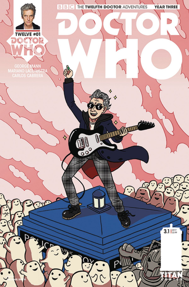 Doctor Who: New Adventures with the Twelfth Doctor, Year Three #1 (Smith Cover)