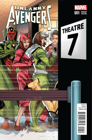 Uncanny Avengers #1 (Larroca Welcome Home Cover)
