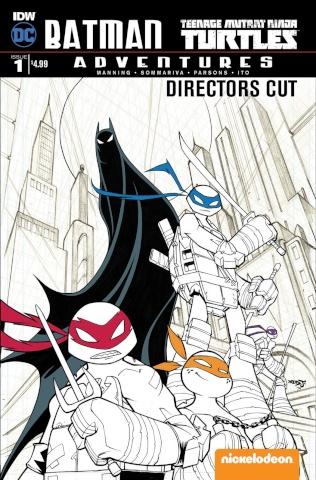 Batman / Teenage Mutant Ninja Turtles Adventures #1 (Director's Cut)
