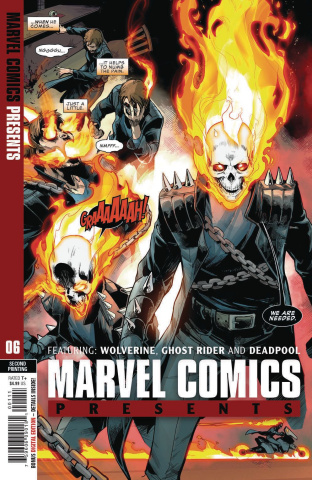 Marvel Comics Presents #6 (Siqueira 2nd Printing)