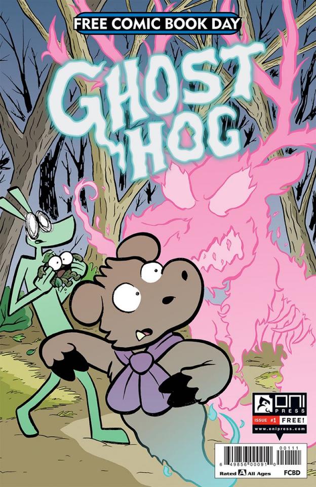 Ghost Hog #1 (FCBD 2019)
