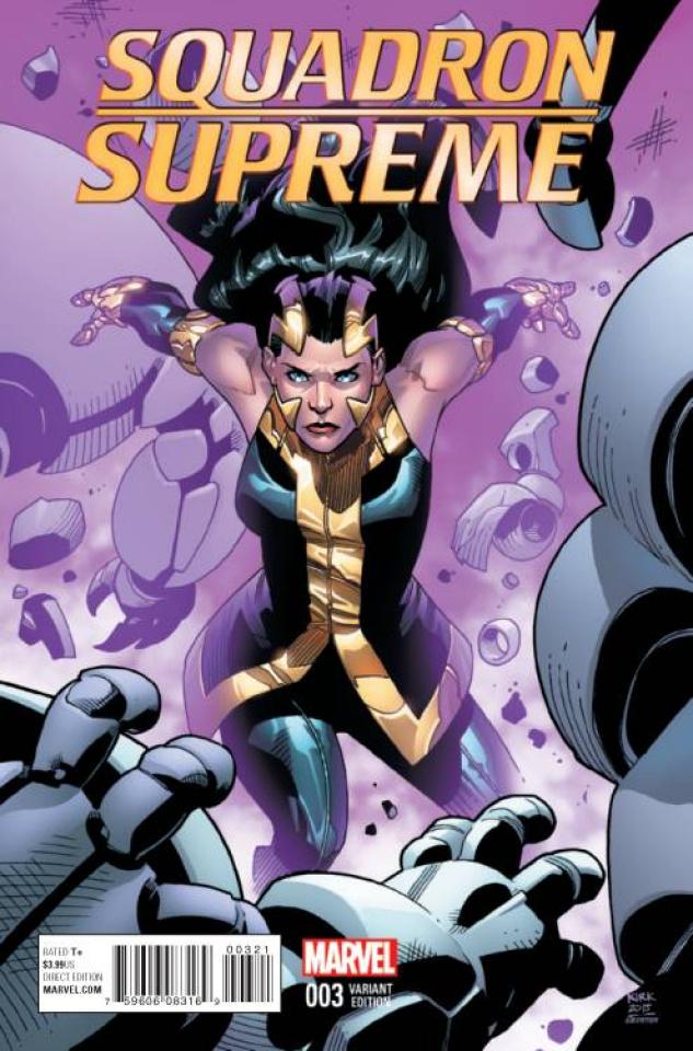 Squadron Supreme #3 (Kirk Cover)