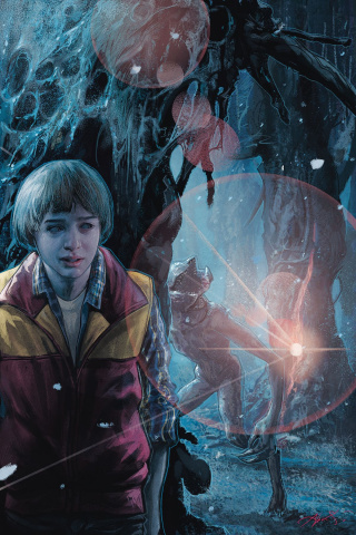 Stranger Things #3 (Briclot Cover)