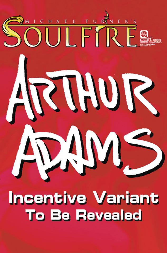 Soulfire #1 (24 Copy Adams Cover)