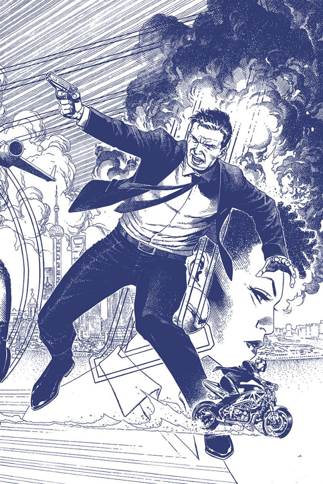 James Bond #3 (15 Copy Cheung Tint Virgin Cover)