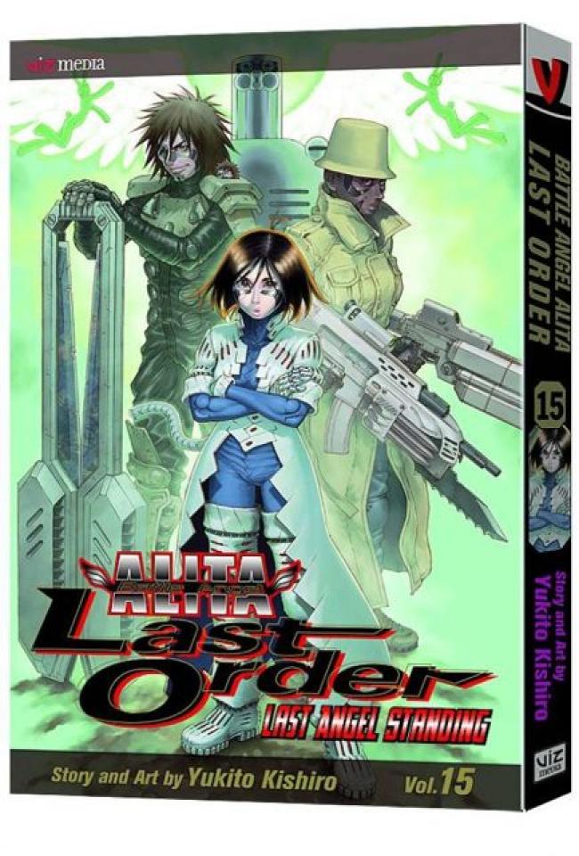 Battle Angel Alita: Last Order Vol. 15