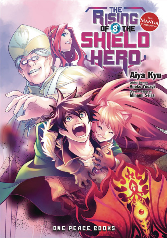 The Rising of the Shield Hero Vol. 8: Manga Companion