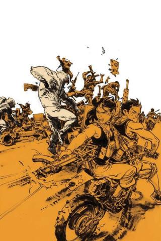 Gung-Ho: Anger #1 (20 Copy Kim Jung Gi Virgin Cover)