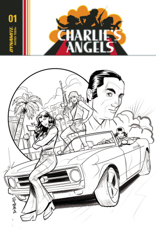 Charlie's Angels #1 (20 Copy Eisma B&W Cover)
