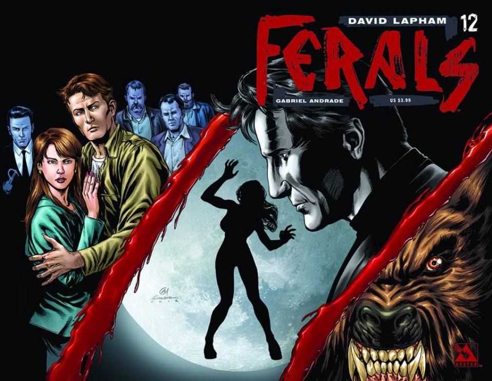 Ferals #12 (Wrap Cover)