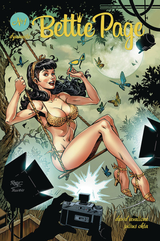 Bettie Page #1 (Royle Cover)
