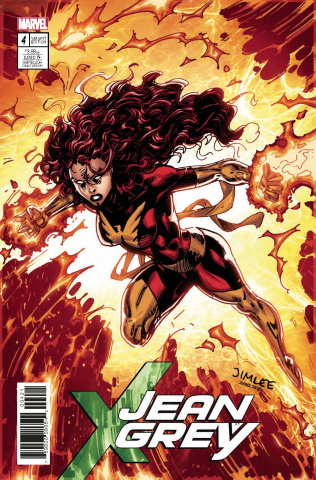 Jean Grey #4 (X-Men Card Cover)