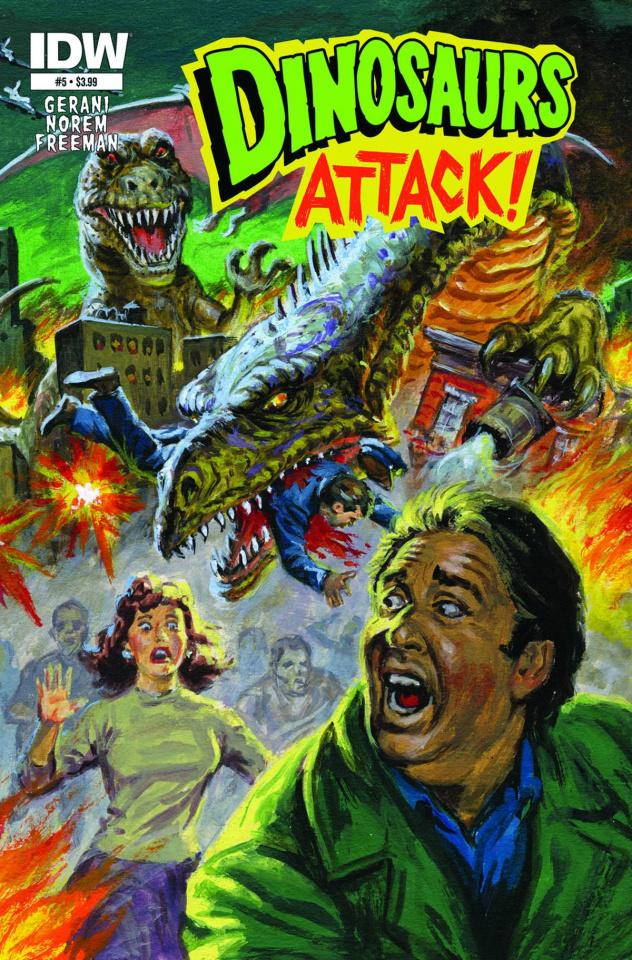 Dinosaurs Attack! #5