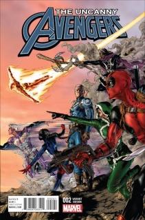 Uncanny Avengers #2 (Jimenez Cover)