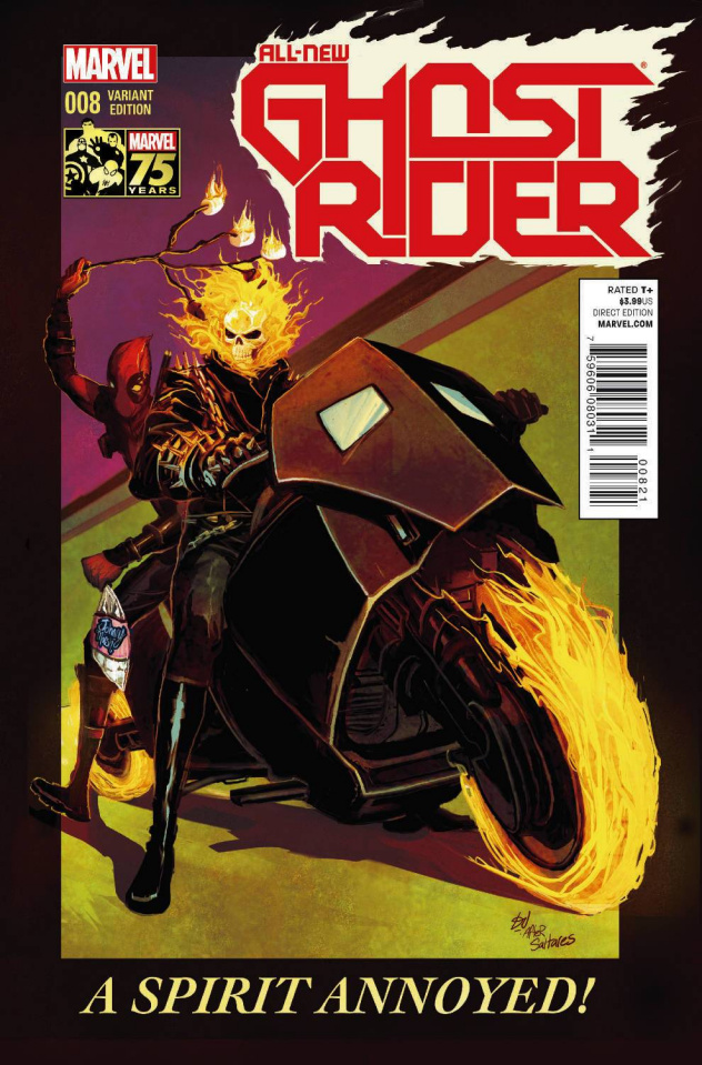 All-New Ghost Rider #8 (Deadpool Cover)