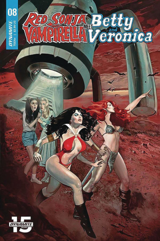 Red Sonja and Vampirella Meet Betty and Veronica #8 (Dalton Cover)