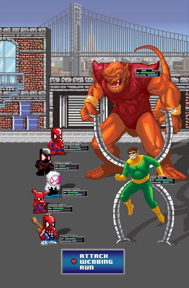 Spider-Man: Enter the Spider-Verse #1 (Waite Cover)