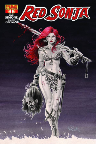 Red Sonja #1 (Scott Cover)