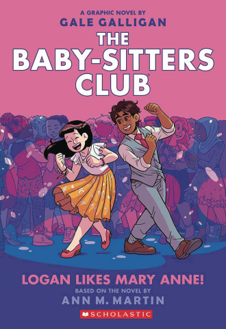 The Baby-Sitters Club Vol. 8: Logan Likes Mary Anne! (Color Edition)