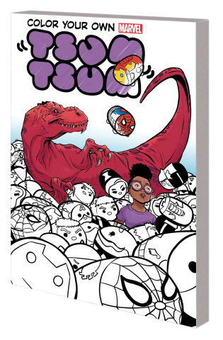 Color Your Own Marvel Tsum Tsum