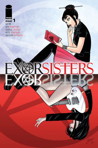 Exorsisters #1 (Lagace Cover)