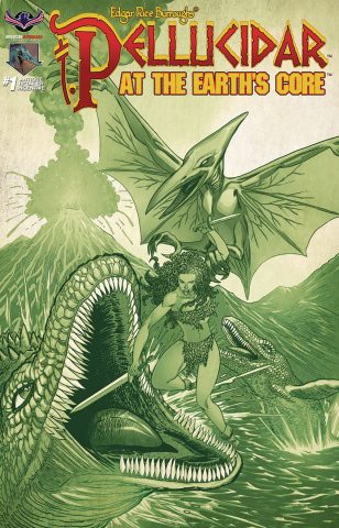 Pellucidar: At the Earth's Core #1 (3 Copy Cover)