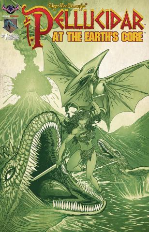 Pellucidar: Terror at the Earth's Core #1 (3 Copy Cover)
