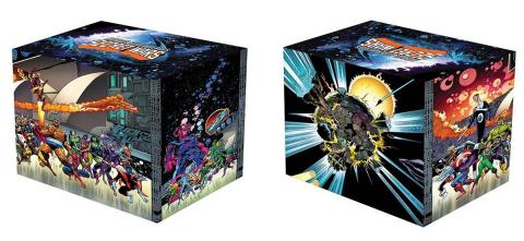 Secret Wars Battleworld Box Set Slipcase