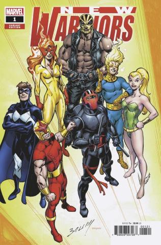 New Warriors #1 (Bagley Cover)