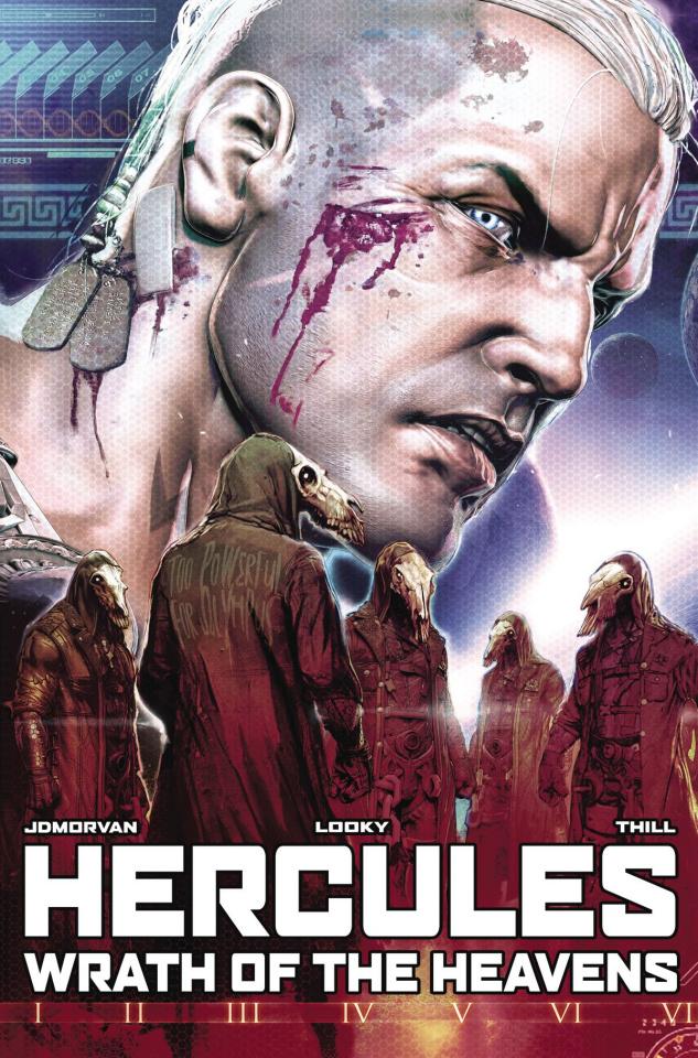Hercules: Wrath of the Heavens #2 (Looky Cover)