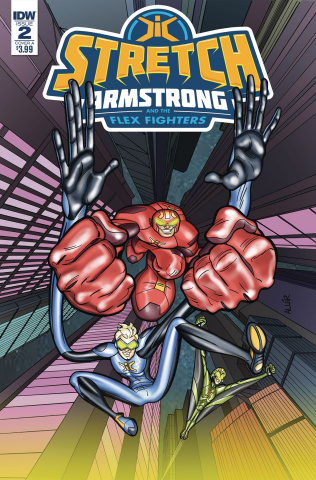 Stretch Armstrong and the Flex Fighters #2 (Amancio Cover)