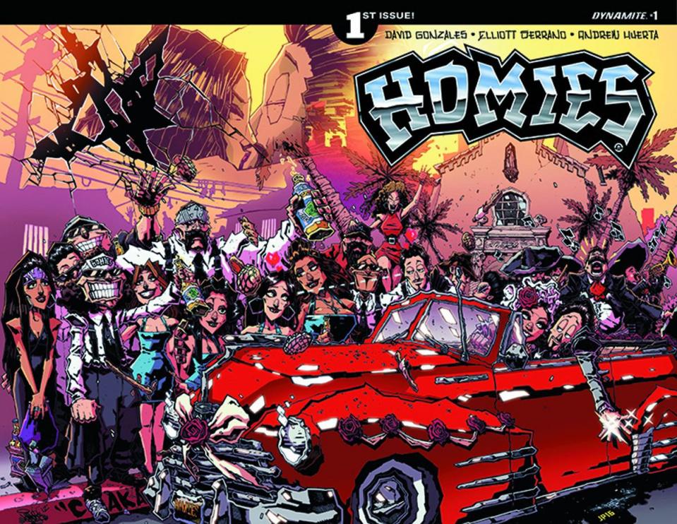 Homies #1 (Huerta Cover)