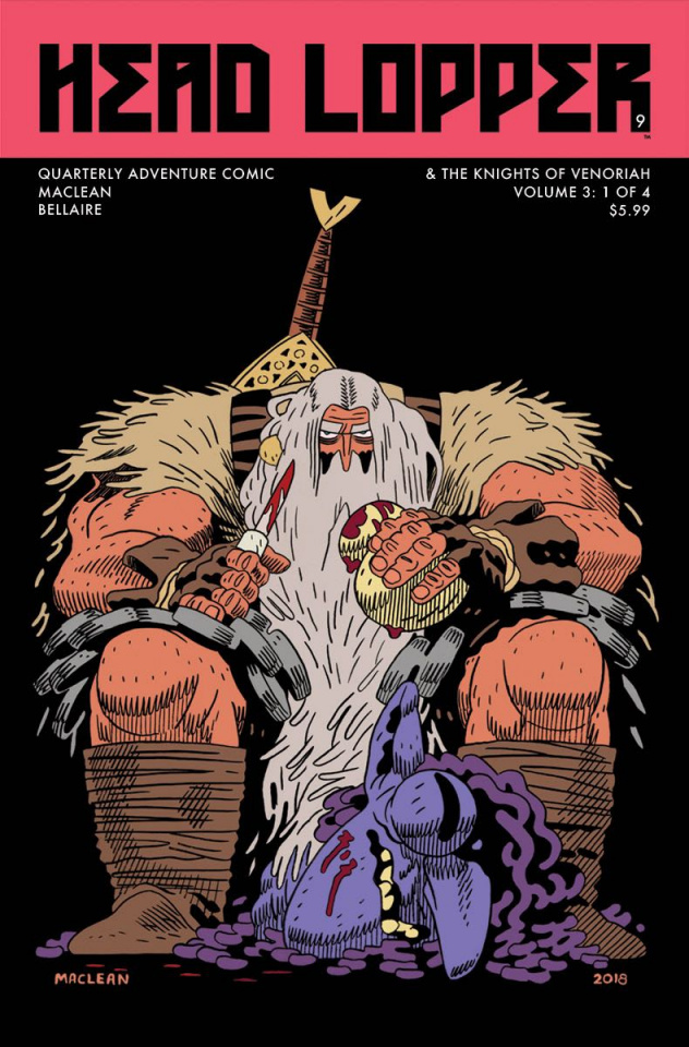 Head Lopper #9 (MacLean Cover)