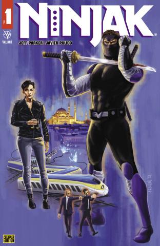Ninjak #1 (Preorder Ed Moustafa Cover)