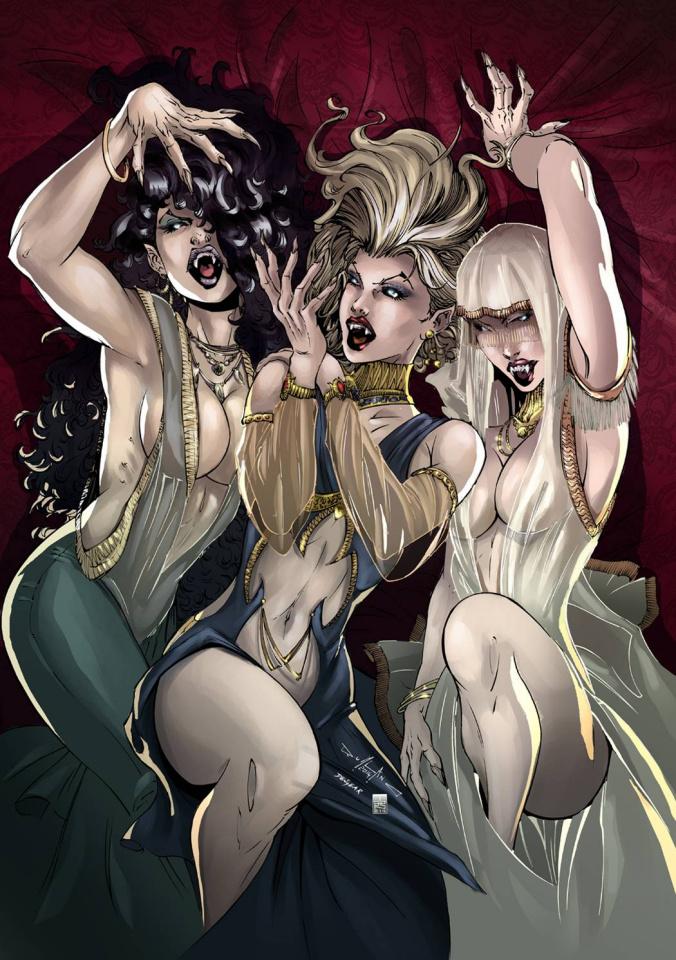 Grimm Fairy Tales: Van Helsing #2 (Qualano Cover)