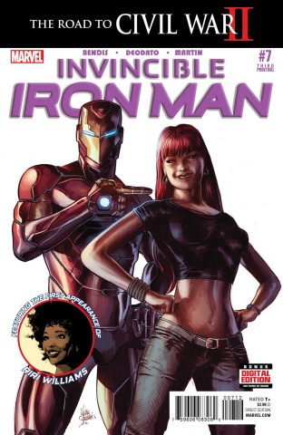 Invincible Iron Man #7 (Deodato 3rd Printing)
