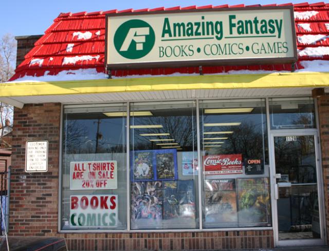 Amazing Fantasy Comics