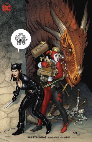 Harley Quinn #62 (Variant Cover)