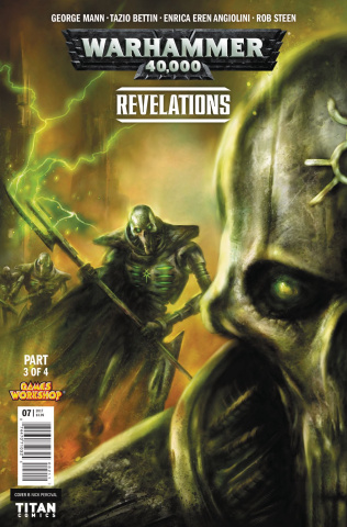 Warhammer 40,000: Revelations #3 (Percival Cover)