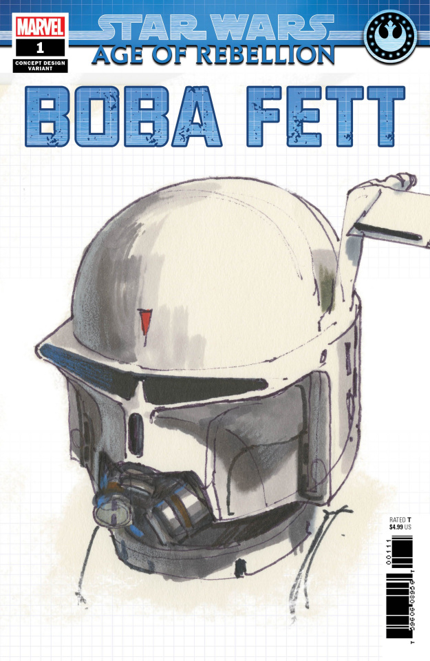 Star Wars: Age of Rebellion - Boba Fett #1 (Concept Cover)