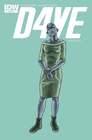 D4VE #3 (Subscription Cover)