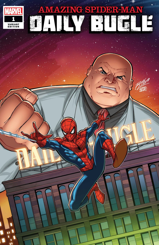 The Amazing Spider-Man: Daily Bugle #1 (Ron Lim Cover)