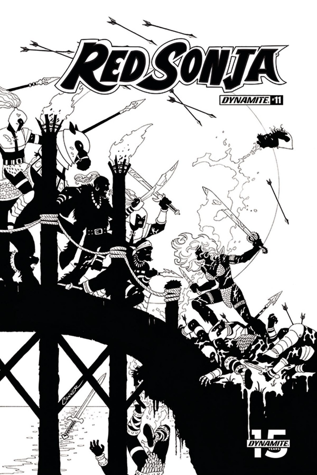 Red Sonja #11 (20 Copy Conner B&W Cover)
