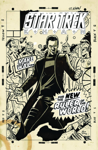 Star Trek: Khan #2 (Subscription Cover)