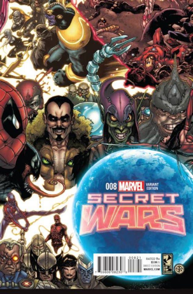 Secret Wars #8 (Bianchi Connecting Cover)