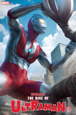 The Rise of Ultraman #2 (Artgerm Cover)