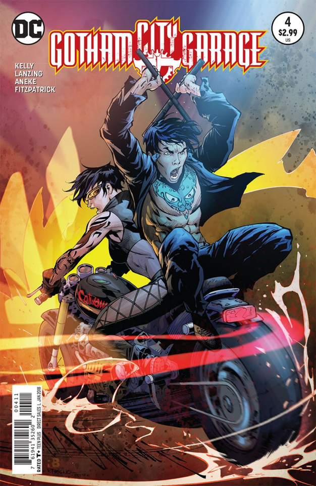 Gotham City Garage #4