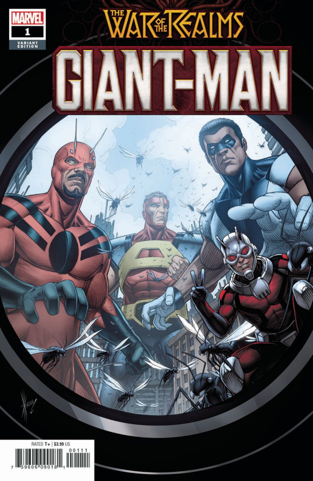 Giant-Man #1 (Keown Cover)