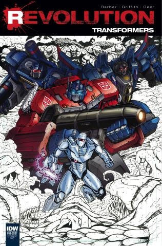 Transformers: Revolution #1 (Local Comic Shop Book Day 2016)