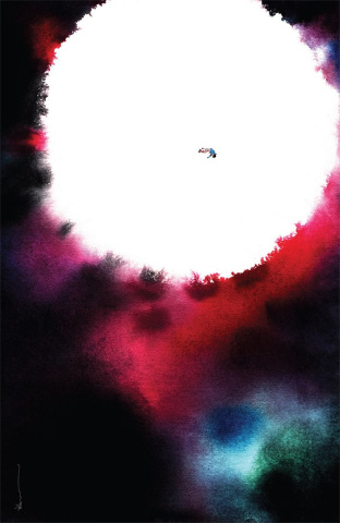 Descender #32 (Nguyen Cover)